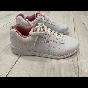 Dexter us7 sneakers white shoes white bowling 7